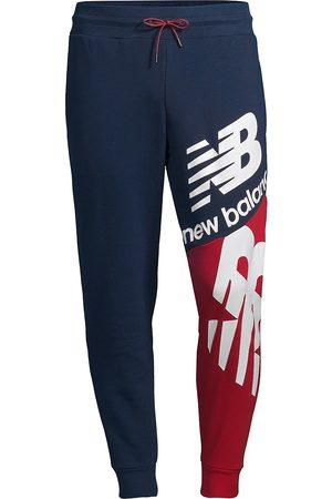 New Balance Men's NB Athletics Splice Track Pants - Garnet - Size Medium
