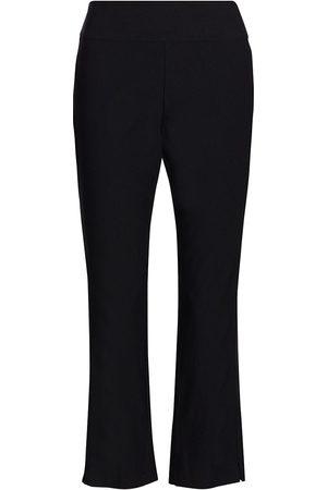 NIC+ZOE, Petites Women's Wonderstretch Crop Pants - Onyx - Size 0