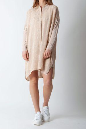 AJ117 Sheena Dress in Sand
