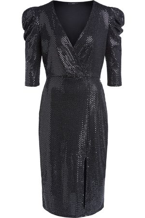 SET Set Long Sleeve Sparkle Dress