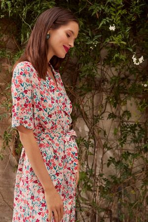 Des Petits Hauts Enoline Dress in Marigold