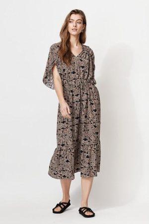 Mayla Dahlia Dress Margeruite Print