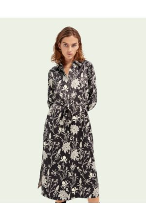 Scotch&Soda Floral Shirtdress