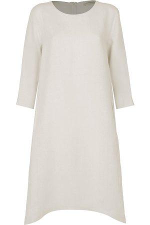 Le Tricot Perugia WOMEN'S 766186475 BEIGE LINEN DRESS