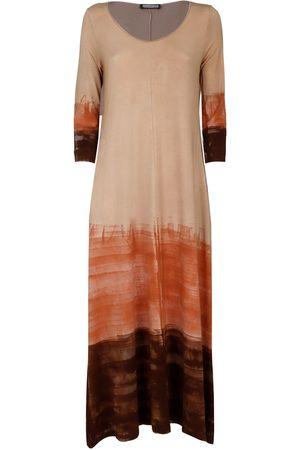METAMORFOSI WOMEN'S 7190230019 BEIGE VISCOSE DRESS