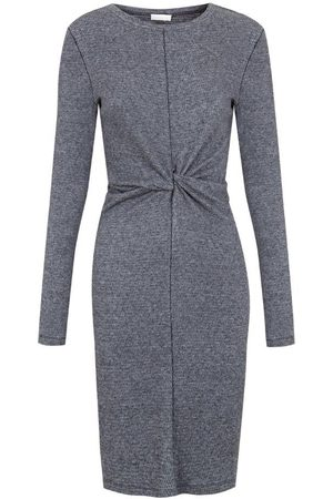 Intropia Textured Ruched Dress