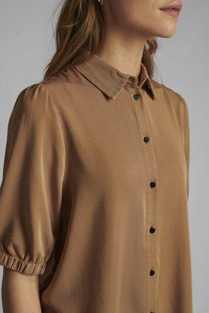 Numph Women Shirts - Nucasilda Tannin Shirt