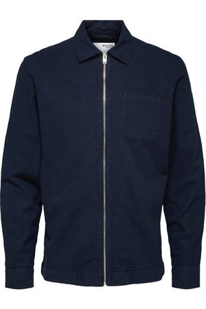SELECTED Loose Dayton Shirt Jacket Navy