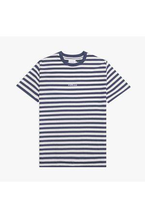 Parlez Ladsun Heavy Stripe T-Shirt - Navy