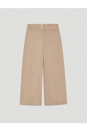 pennyblack Wide leg Cotton Satin Trousers