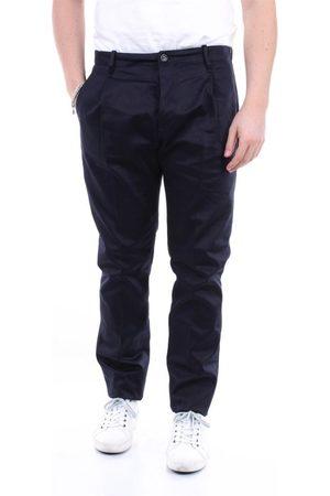 Nine In The Morning Men Jeans - MEN'S FL45FOLDBLUNAVY COTTON PANTS