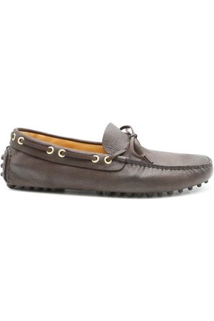 CAR SHOE MEN'S KUV006 LEATHER LOAFERS