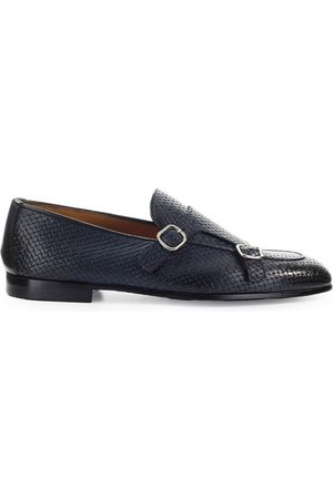 Doucal's MEN'S DU2363PANAUF073NB00 LEATHER LOAFERS