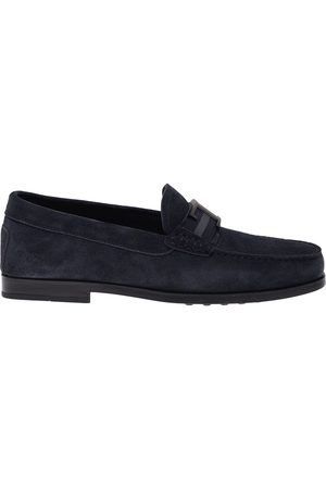 Tod's MEN'S XXM17C0CT50RE0U805 SUEDE LOAFERS