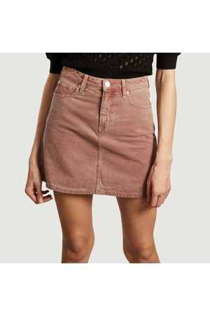 MUD Jeans Sophie Rocks tinted denim short skirt Terra