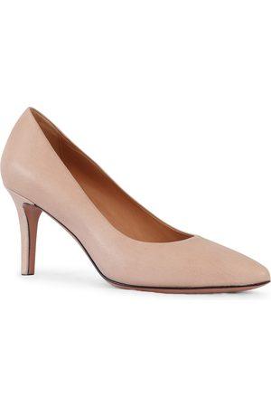 Aristocrat Women Sports Shoes - Mid Heel Leather Court Shoe