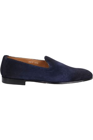 Doucal's MEN'S DU2812PANAUF068NB03NAVYFO OTHER MATERIALS LOAFERS