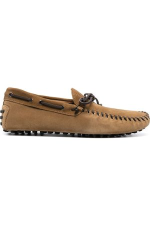 Tod's MEN'S XXM64C0DQ20RE0S415 SUEDE LOAFERS