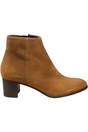 Aristocrat Tan Suede Ankle Boot