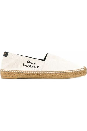 Saint Laurent SAINT LAURENT WOMEN'S 6059561P2109380 Canvas ESPADRILLES
