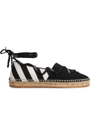 OFF-WHITE WOMEN'S OWIA204R20H701160110 FABRIC ESPADRILLES