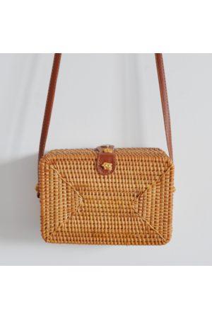 Bon Bon Fistral Rattan Box Bag