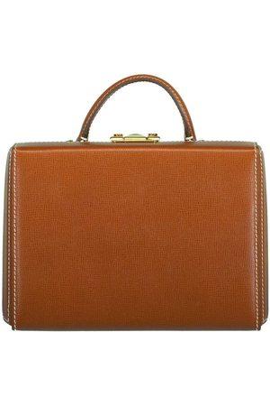 MARK CROSS Acorn Grace Small Franzi Leather Box Bag