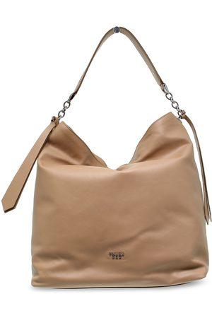 Tosca Blu WOMEN'S TOSCAB241NOC BEIGE LEATHER SHOULDER BAG