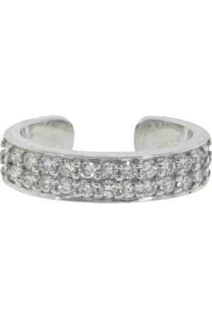 Anita Double Row Diamond Ear Cuff