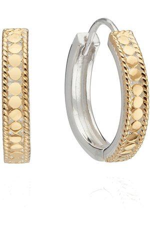 Anna Beck Women Hoop - Classic Hinge Hoop Earring /Gold