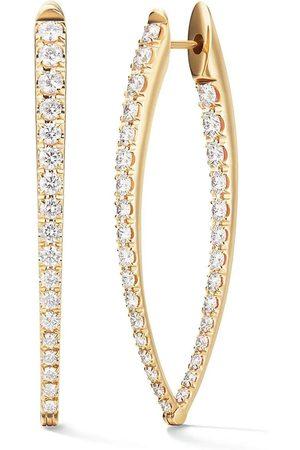 Melissa Kaye Cristina Large Diamond Earrings