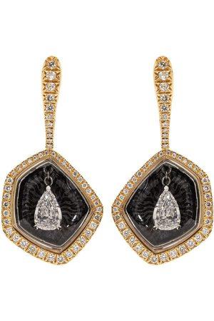 SABOO FINE JEWELS Diamond Fusion Pear Drop Earrings