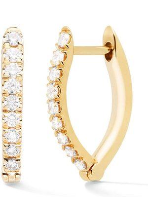 Melissa Kaye Cristina Small Diamond Earrings