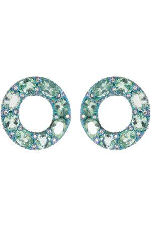 SABOO FINE JEWELS Elemento Paraiba and Diamond Earrings