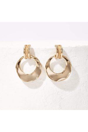 Akola Margo Raffia Hoop Earrings