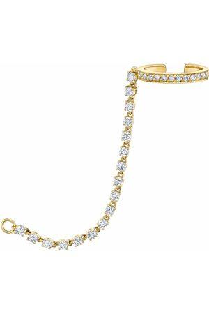 Anita Single Row Diamond Ear Cuff Chain