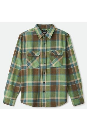 Brixton Bowery Flannel Shirt - Toffee