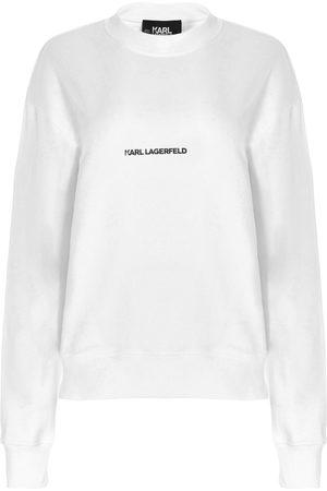 Karl Lagerfeld WOMEN'S 211U1800100 OTHER MATERIALS SWEATSHIRT