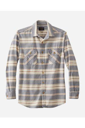 Pendleton Beach Shack Shirt - Indigo/Rust Stripe