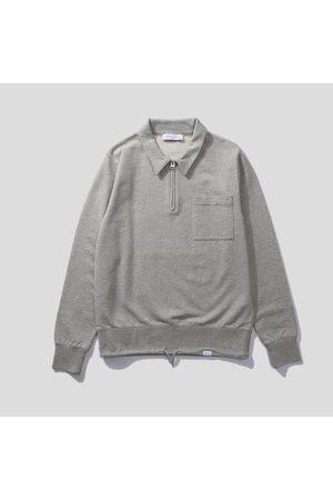 Edmmond Studios Alo Zip Sweatshirt - Light Grey Melange