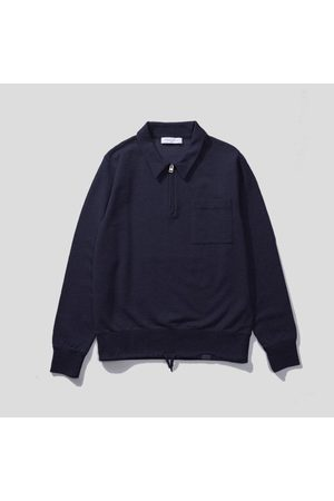 Edmmond Studios Alo Zip Sweatshirt - Navy