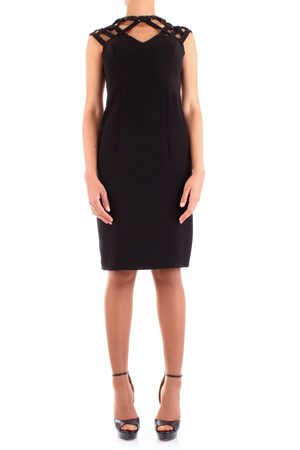 FABIANA FERRI WOMEN'S 30109BLACK POLYESTER DRESS