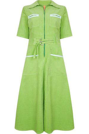 The West Village Cord Shirt Dress Apple