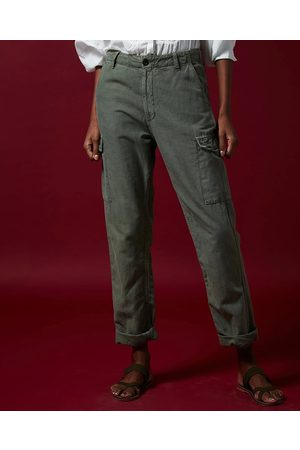 HARTFORD Pargot Khaki Trousers