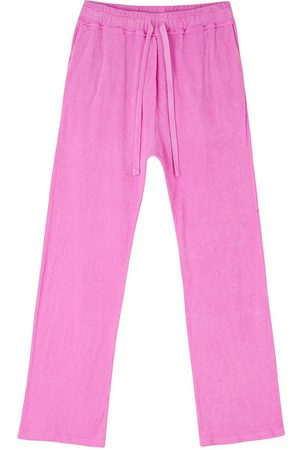 JUMPER 1234 1234 - Terry Wide Leg Joggers In Neon