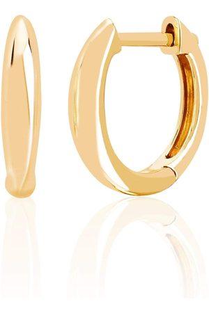 EF Collection Women Earrings - Mini Dome Huggie Earrings