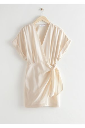 & OTHER STORIES Relaxed Wrap Mini Dress