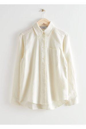 & OTHER STORIES Patch Pocket Linen Shirt