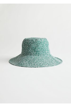 & OTHER STORIES Women Hats - Floral Printed Bucket Hat
