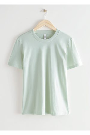 & OTHER STORIES Crewneck Cotton T-Shirt